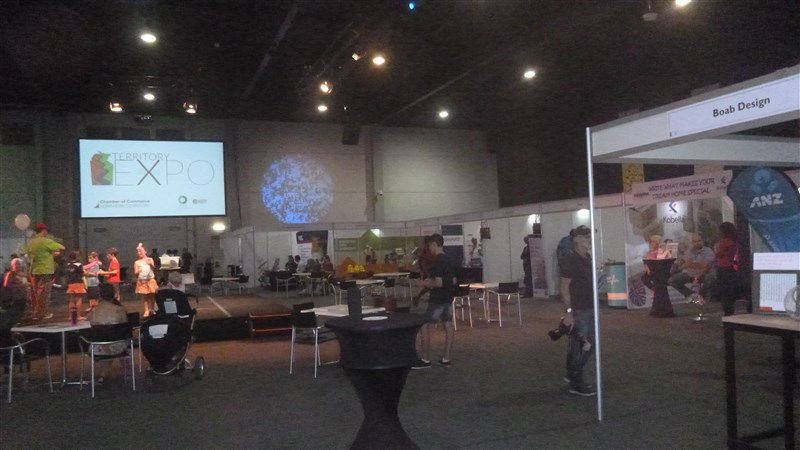 Territory Expo centre stage