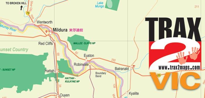 map of mildura